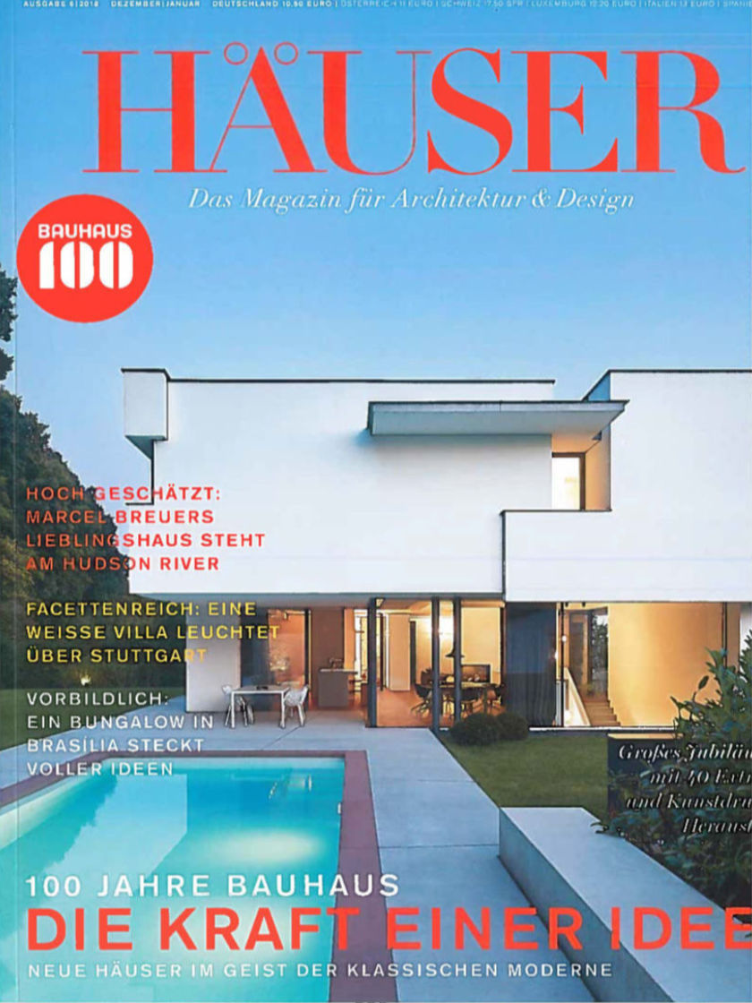 Magazin-Cover: Häuser 6/2018