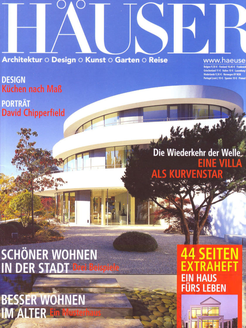 Magazin-Cover: Häuser
