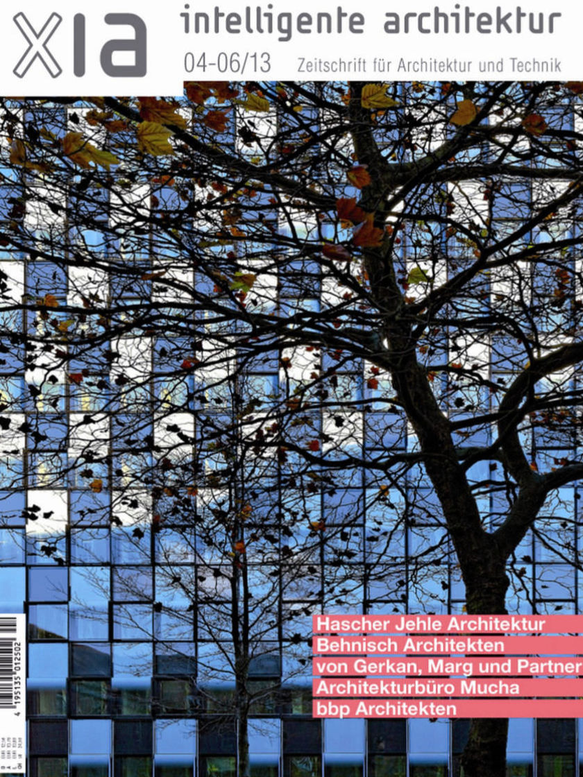 Magazin-Cover: Xia - intelligente Architektur